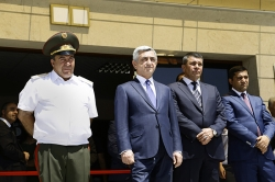 Inauguration ceremony of the new administration building of the RA Police troops held in Davtashen administrative district of Yerevan (VIDEO and PHOTOS)