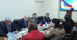 Head of Police Headquarters Receives OSCE ODIHR Advisers (VIDEO)