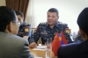 Head of the Police receives the Ambassador Extraordinary and Plenipotentiary of the People
